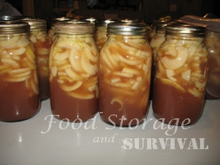 Home-Canned Apple Pie Filling