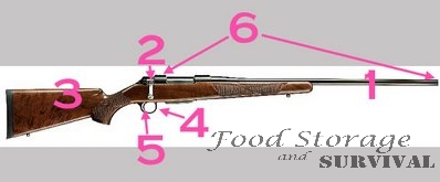 Firearm Safety and Parts of a Gun for Beginners!  Food Storage and Survival