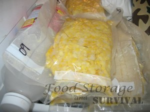 How to freeze or dehydrate corn