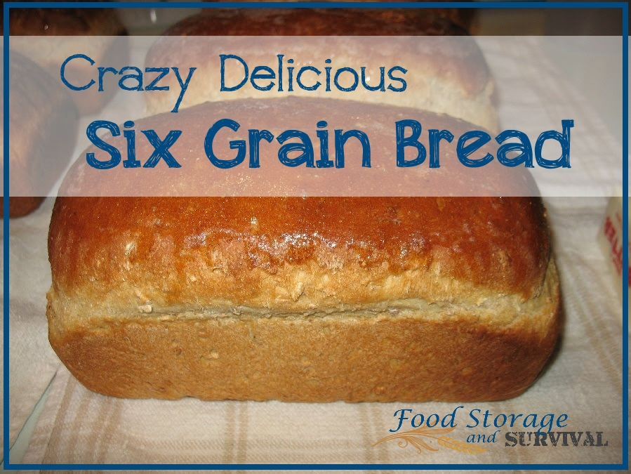 The Most Amazing Delicious Magical Award Winning 6 Grain Bread Recipe I Ever Came Up With Myself
