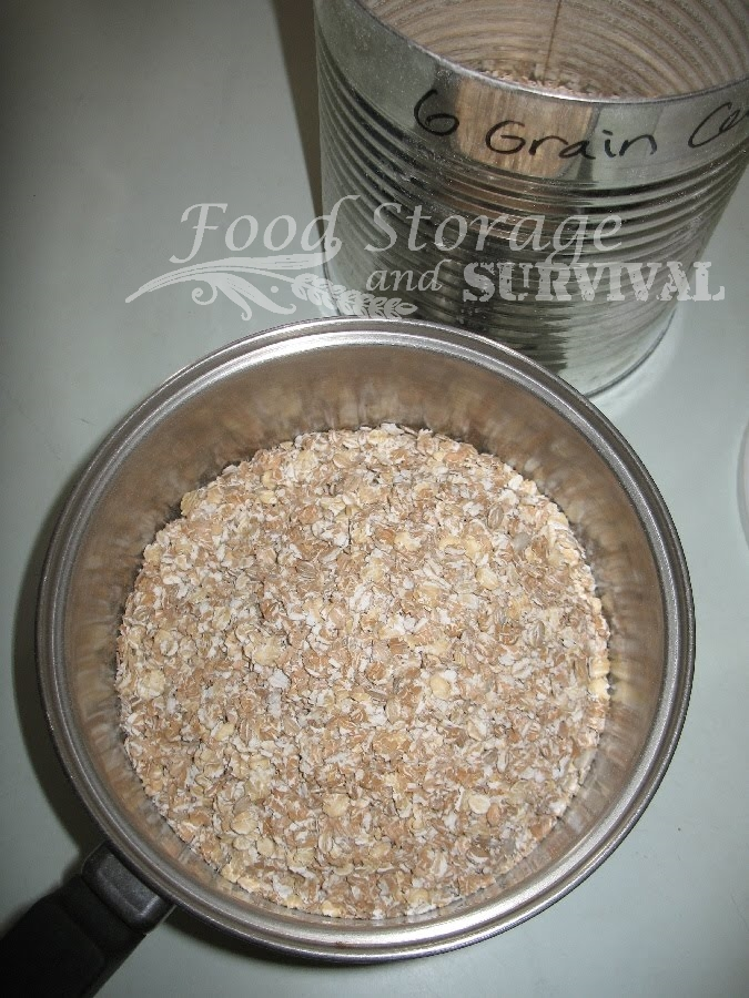 Crazy delicious six grain bread recipe!  Yum!  Food Storage and Survival