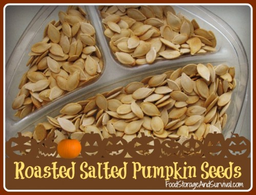 Easy Roasted Salted Pumpkin Seeds!  Doing this with my Halloween pumpkins!