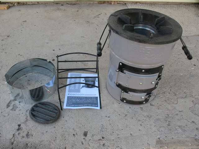 EcoZoom Zoom Versa Rocket Stove Review (Charcoal)