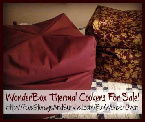 Wonderbox wonder ovens for sale! Food Storage and Survival