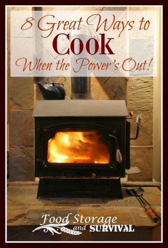 8 Great ways to cook when the power is out!