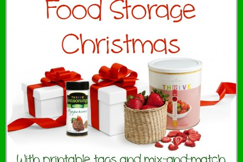 Twelve Days of Christmas–Food Storage
