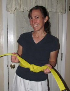 Top 10 Things I Learned While Earning My Karate Yellow Belt
