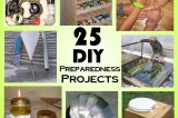 25 DIY Weekend Preparedness Projects