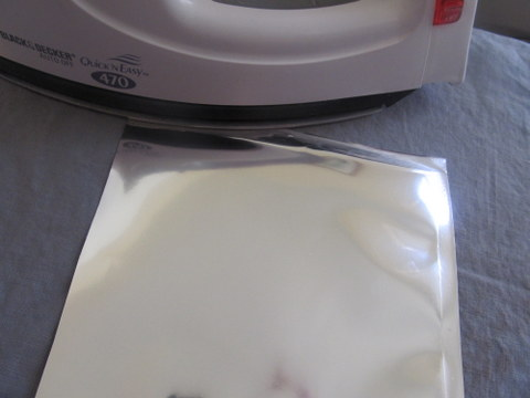 Make Custom Sized Mylar Bags With a Clothing Iron