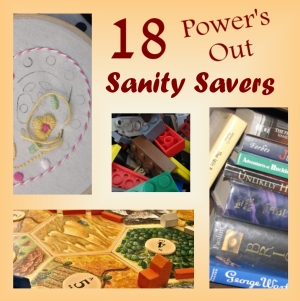 18 Power's Out Sanity Saving Activities For Children (And Their Parents)