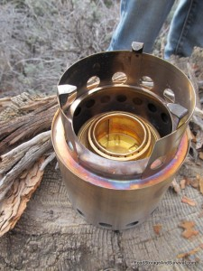 Solo Stove with Alcohol Stove