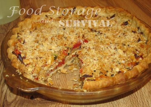 Recipes and Tips for Sustainable Living Tomato Pie