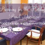 Food Storage and Survival Radio Episode 33: Preparing for the Holidays Panel Discussion