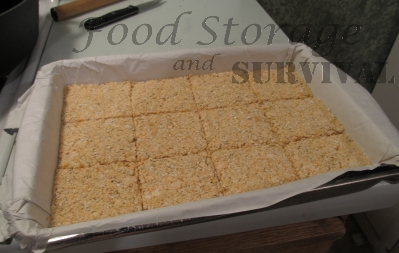 How to make your own Survival bars!  Easy and perfect for emergency kits.  Food Storage and Survival