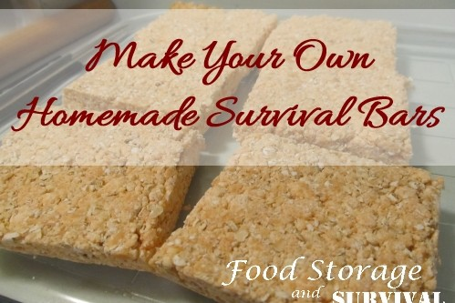 Make Your Own Homemade Survival Bars –Improved Recipe!
