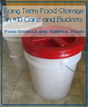 Food Storage And Survival Radio Episode 38 Storing Food