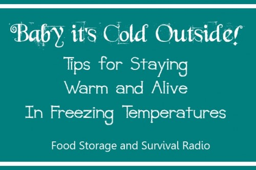 Food Storage and Survival Radio Episode 40: Staying Warm and Alive in Freezing Temperatures