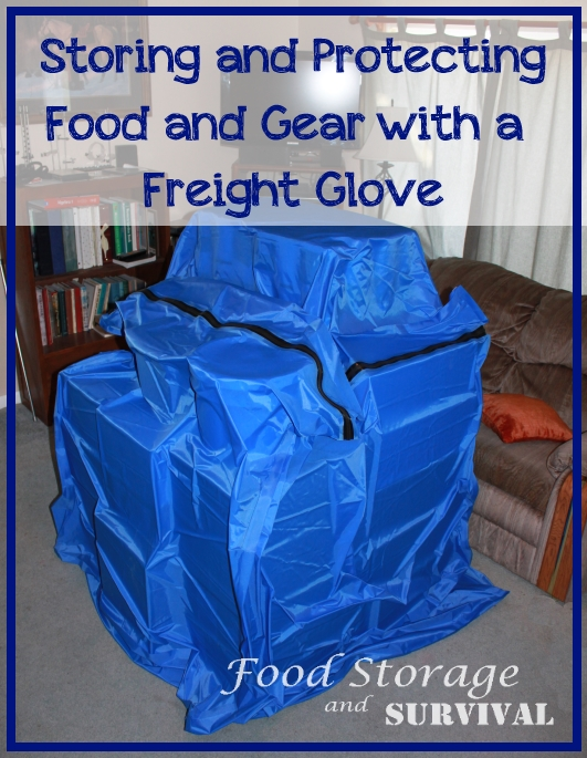 Storing and Protecting Food and Gear with a Freight Glove
