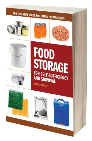 Food storage book 3d transparent bg 450 tall