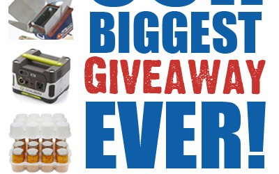 Super Mega Preparedness Giveaway!