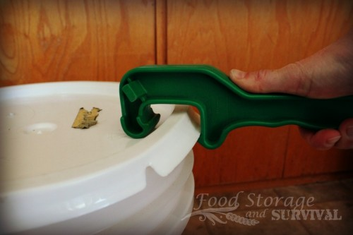 Why you want a bucket opener wrench--the $5 (or less) prepper tool worth its weight in gold! Food Storage and Survival