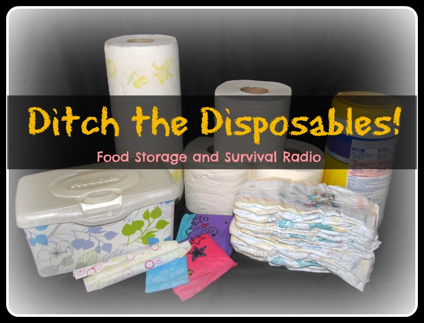 Ditch the disposables! 12 reusable alternatives!  Food Storage and Survival Radio