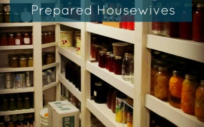 Food Storage and Survival Radio Episode 47: Building Your Food Storage with Prepared Housewives