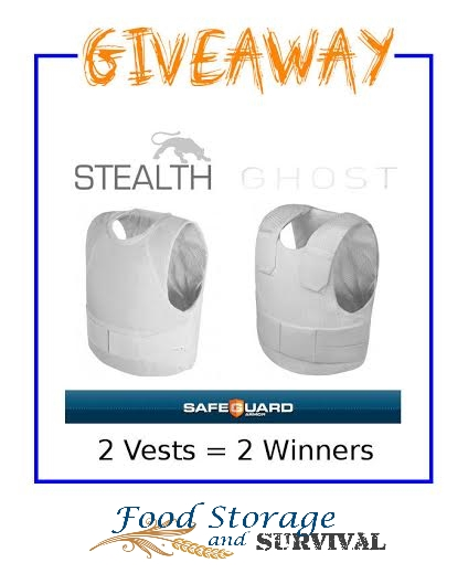 Safeguard Armored Vest Giveaway!  Ends 3/10/14