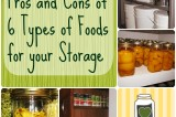 Food Storage and Survival Radio Episode 50: Pros and cons of 6 Types of Foods for your Storage