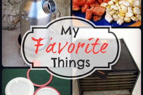 Food Storage and Survival Radio Episode 48: My Favorite Things
