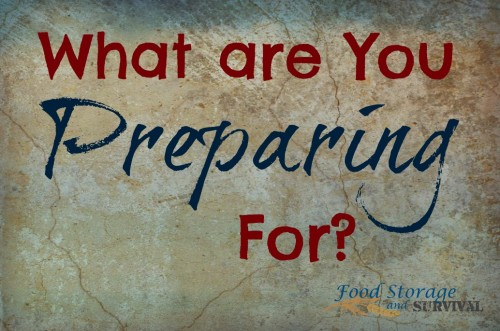 What are you preparing for? Plus some favorite big ticket preparedness items!  Food Storage and Survival Radio