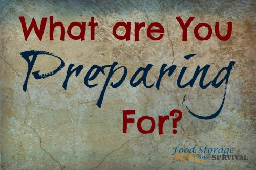 Food Storage and Survival Radio Episode 49: What Are You Preparing For and Big Ticket Preparedness Items