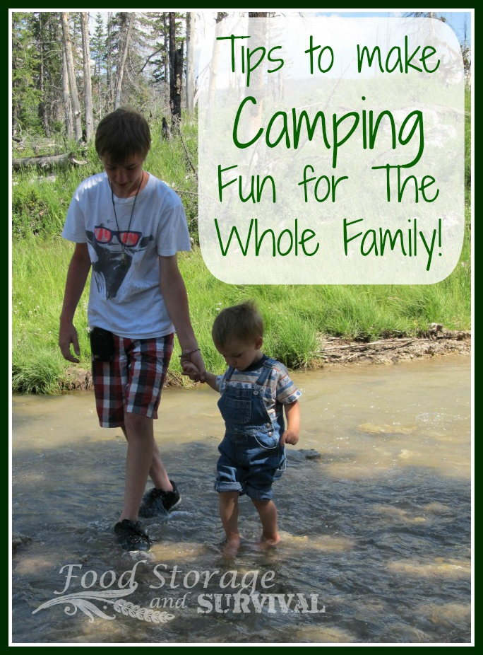 Food Storage and Survival Radio Episode 54: Tips to Make Camping Fun for the Whole Family