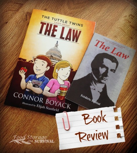 The Tuttle Twins Learn About The Law and your children can too with this great new book!  Everything they are not learning in school.  Book review at Food Storage and Survival