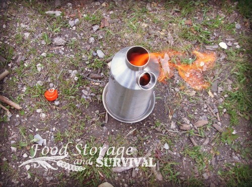 Powerless Cooking on the Kelly Kettle Base Camp