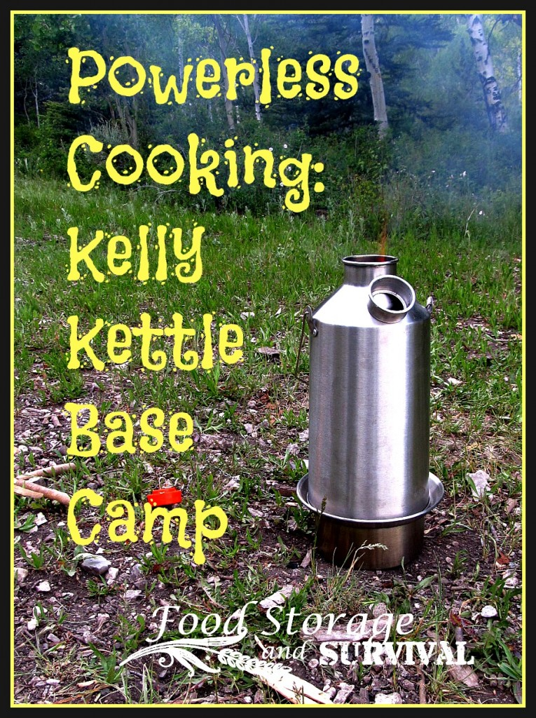 Powerless Cooking With The Kelly Kettle Base Camp