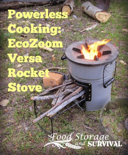 Powerless cooking: EcoZoom Versa Rocket Stove