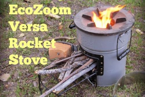 Powerless Cooking on the EcoZoom Versa Rocket Stove