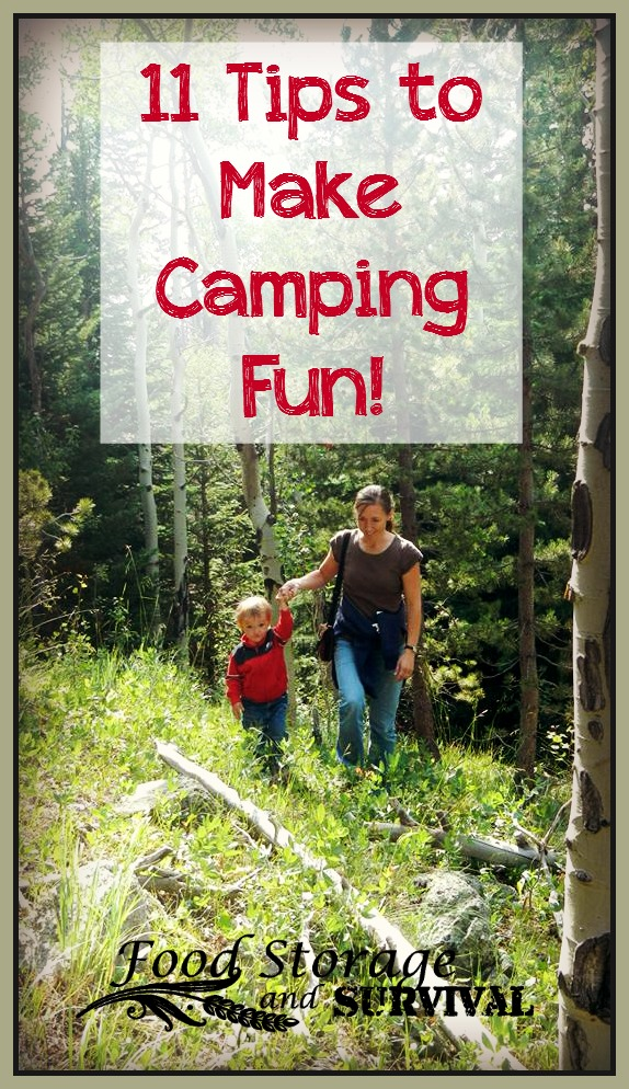 11 Tips to Make Camping Fun!