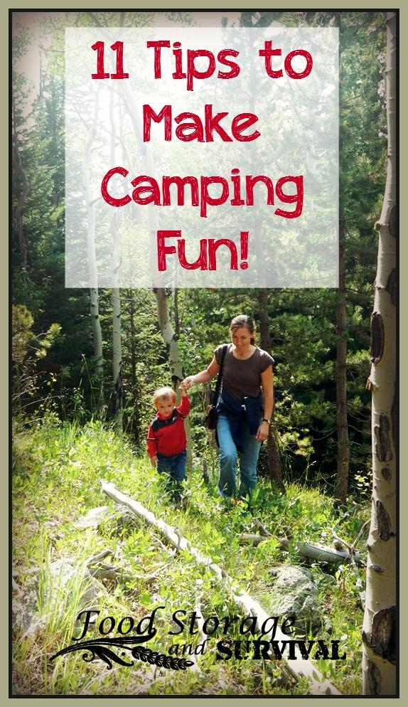 11 Tips to Make Camping Fun!
