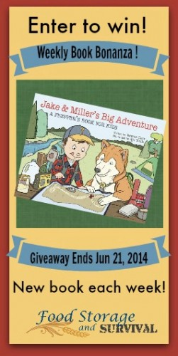 Win a copy of the childrens preparedness book Jake and Miller's Big Adventure!