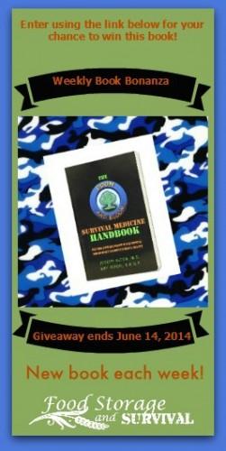Survival Medicine Handbook Giveaway! Ends 6/14/14