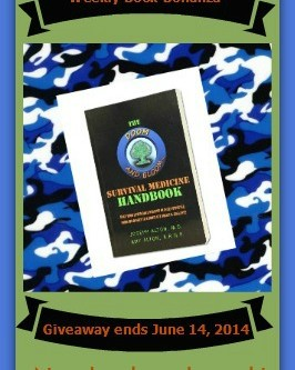 Survival Book Bonanza Giveaway Week 2: Survival Medicine Handbook