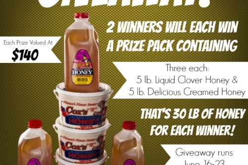 Cox's Honey Giveaway!