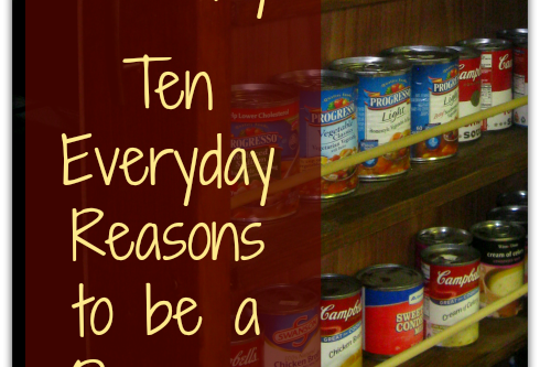 Food Storage and Survival Radio Episode 59: 10 Every Day Reasons to Be a Prepper