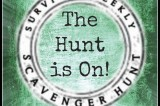 Join in the Prepper Scavenger Hunt!