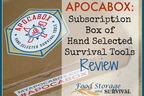 Apocabox Review: Subscription Box of Hand Picked Survival Tools