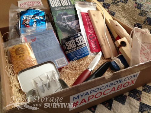 Apocabox subscription box of hand picked survival tools REVIEW