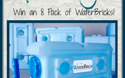 WaterBrick Water Storage Giveaway!