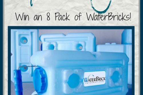 WaterBrick Water Storage Giveaway!